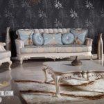 Jual Set Sofa Ruang Tamu Mewah Jati Terbaru