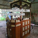 Jual Mimbar Masjid Jati Ukiran Orang Jepara