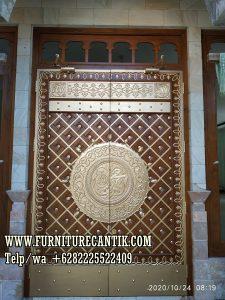 Pintu Masjid Jati Buatan Jepara