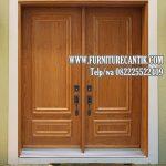 Daun Pintu Rumah Mewah Jati TPK