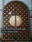 Pintu Masjid Kayu Jati TPK Ukiran