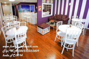 Set Kursi Kafe Tifani