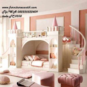 Tempat Tidur Tingkat Istana anak