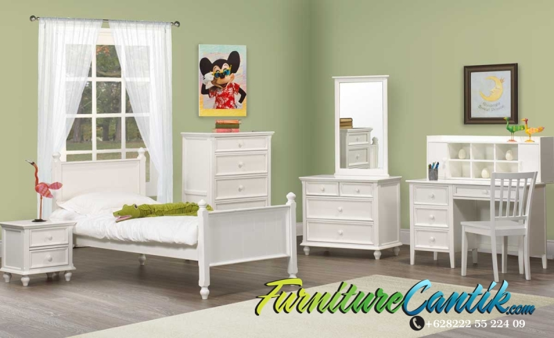 Set Kamar Tidur Anak Minimalis