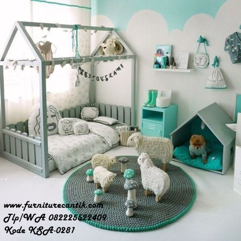 Furniture Kamar Set Anak Model Gubuk