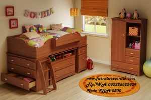 Furniture Kamar Set Anak Sophia