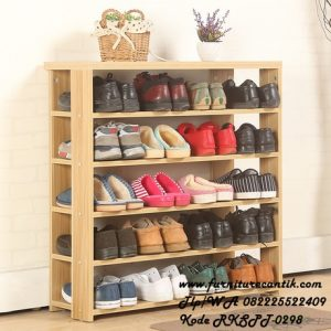 Rak Sepatu Simple