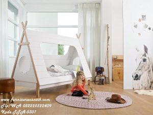 Tempat Tidur Anak Model Perkemahan