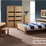 Furniture Kamar Kayu Model Minimalis