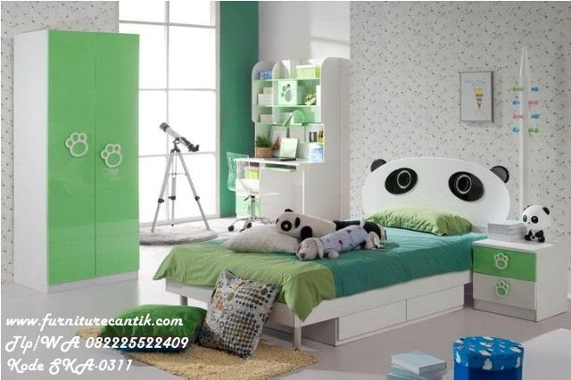 Jual Kamar Set Anak Model Panda