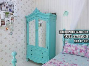 Lemari Pakain Warna Elegant