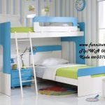 Jual Tempat Tidur Tingkat Biru