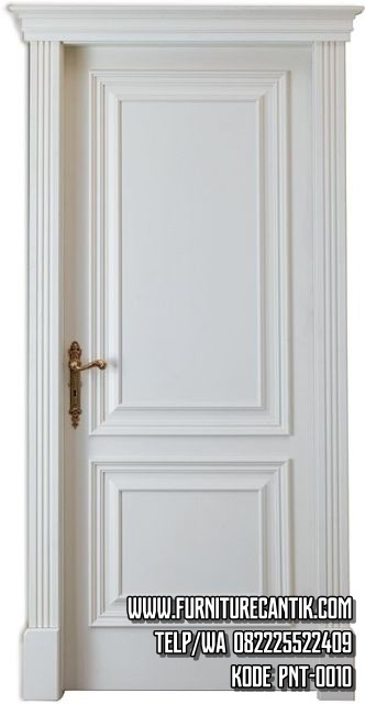 Pintu Rumah Minimalis Mewah Cat Putih