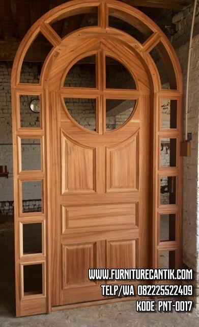 Pintu Kusen Rumah Kayu Jati Minimalis
