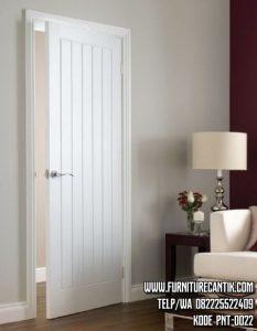 Pintu Kusen Rumah Minimalis Cat Putih