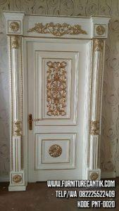 Pintu Kusen Rumah Ukiran Mewah Jati