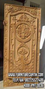 Model Pintu Gereja Ukiran Jepara