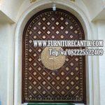 Pintu Masjid Model Nabawi Jati TPK Bagus