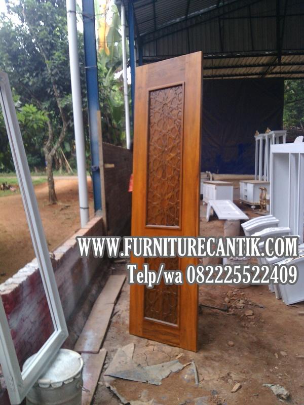 Daun Pintu Masjid Kayu Jati