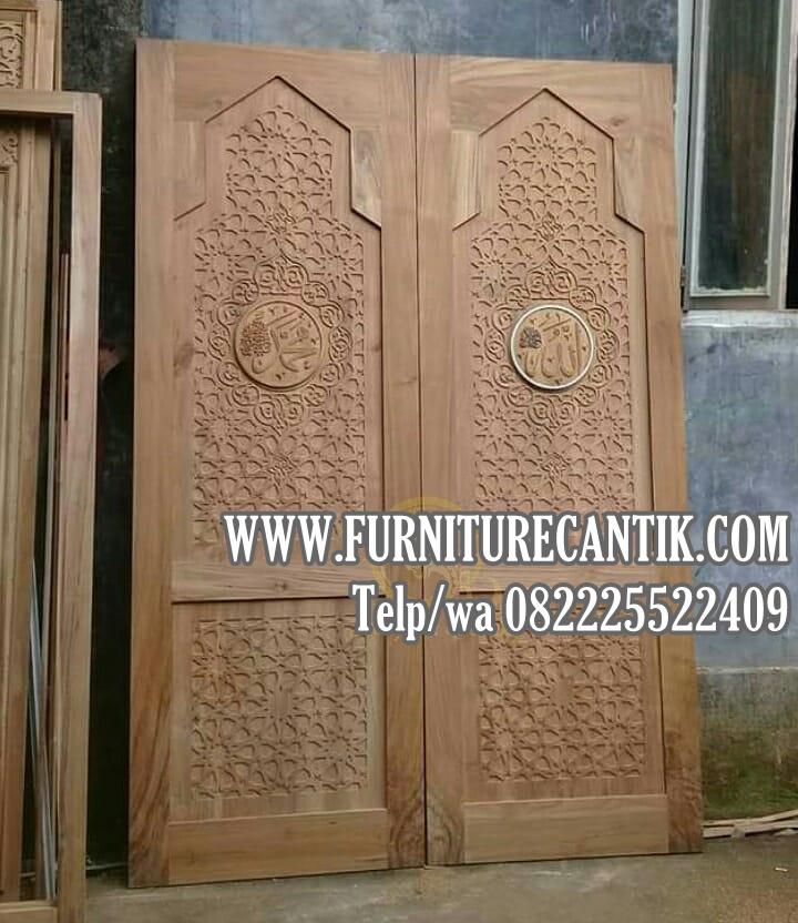 Jual Pintu Kusen Masjid Kayu Jati