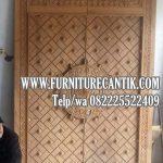 Jual Pintu Masjid Kayu Jati Murah Ukiran Jepara