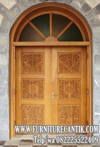 Pintu Kusen Masjid Kayu Jati TPK Bagus C