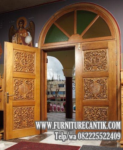 Jual Pintu Kusen Masjid Jati