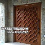 Pintu Kamar Rumah Mewah Jati