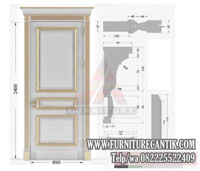 Pintu Kamar Rumah Mewah Minimalis