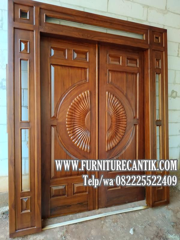 Pintu Utama Rumah Mewah Klasik Doff