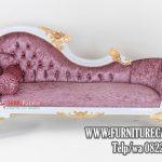 Sofa Santai Ukiran Jati Cat Duco