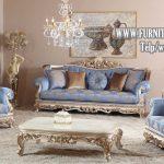 Desain Sofa Tamu Mewah Ukiran Jepara Terbaru