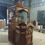 Mimbar Masjid Kayu Jati Buatan Jepara
