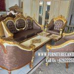 Kursi Tamu Sofa Jati Ukiran Mewah Terbaru Terbaik