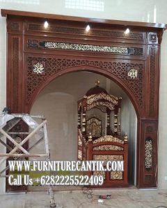 Jual Mimbar Khutbah Masjid Dan Mihrab