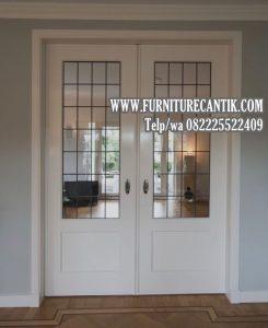 Daun Pintu Mewah Jati